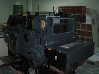 heidelberg SBG - découpe - rainage - perforation
